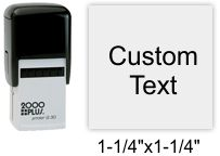 2000 Plus Printer Q-30 Self Inking Stamp Self Inking Stamp
