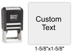 2000 Plus Printer Q-43 Self Inking Stamp Self Inking Stamp