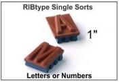 "B18 RIbType 1"" Single Sort"