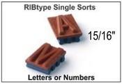 "U79 RIbType 15/16"" Single Sort"