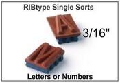 A12 RibType 3/16 Single Sort
