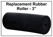 Replacement Fingerprint Ink Rubber Roller