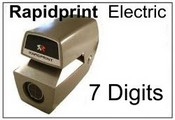 AN-E 7 Wheel Rapidprint Numbering Stamp