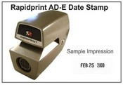 AD-E Rapidprint Date Time Stamp