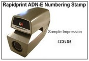 ADN-E Rapidprint Time Clock
