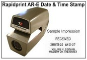 Rapidprint AR-E - Basic time stamp