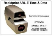 ARL-E Rapidprint W/Digital Clock