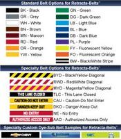 Retracta-Belt® Options and Features