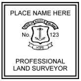 Rhode Island State Surveyor Stamp