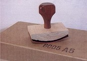 70606 Ribbed Hand Stamp with Rocker