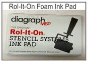 "0408201 Rol-It-On Ink Pad, 3-1/2""x7"""