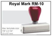 Royal Mark Pre-Inked Stamp