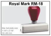Pre-Inked RM-18 RM-18 Royal Mark Pre-Inked Stamp