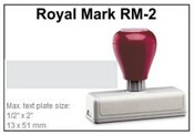 Pre-Inked RM-2 RM-2 Royal Mark Pre-Inked Stamp