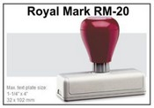 Pre-Inked RM-20 RM-20 Royal Mark Pre-INked Stamp