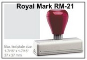 Pre-Inked RM-21 RM-21 Royal Mark Pre-Inked Stamp