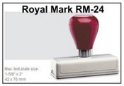 Pre-Inked RM-14 RM-14 Royal Mark Pre-Inked Stamp