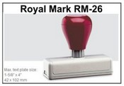 Pre-Inked RM-26 RM-26 Royal Mark Pre-Inked Stamp