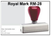 Pre-Inked RM-28 RM-21 Royal Mark Pre-Inked Stamp