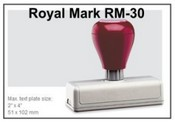 Pre-Inked RM-30 RM-21 Royal Mark Pre-Inked Stamp