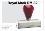 Pre-Inked RM-32 RM-32 Royal Mark Pre-Inked Stamp