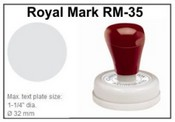 Pre-Inked RM-35 RM-35 Royal Mark Pre-Inked Stamp