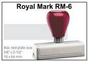 Pre-Inked RM-6 RM-6 Royal Mark Pre-Inked Stamp