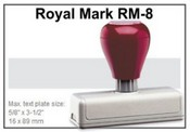 Pre-Inked RM-8 RM-8 Royal Mark Pre-Inked Stamp