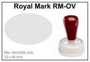 Pre-Inked RM-OV RM-OV Royal Mark Pre-Inked Stamp