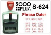 2000 Plus S 624 Phrase Dater