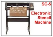 Diagraph SC-5 Electronic Stencil Machine