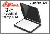 "Shiny 3F 2-3/4""x4-3/8"" Industrail Dry Felt Stamp Pad"