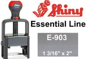 Shiny E-903 Self Inking Stamp