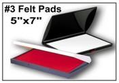 No. 3 Dry Felt Stamp Pad