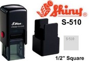 Shiny S-510 Self Inking Stamp
