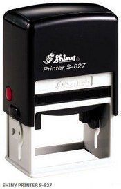 Shiny S-827 Self Inking Stamp