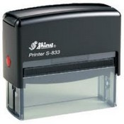 S-833 Shiny Self Inking Stamp