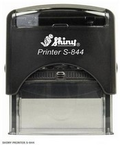 S-844 Shiny Self Inking Stamp