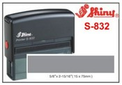 Shiny S-830 Self Inking Stamp