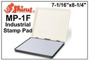"Shiny MP-1F Industrial Felt Stamp Pad, 7-1/16""x8-1/4"""