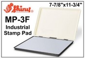 "Shiny MP-3F Industrial Felt Stamp Pad, 7-7/8""x11-3/4"""