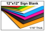 Acrylic Sign Grade Stock Sheet