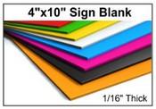 Acrylic Sign Grade Stock Sheet Custom Acrylic Sign Material