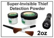 Super-Invisible Thief Detection Powder