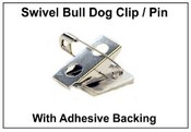 Name Badge Bulldog Clip