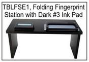 Folding Fingerprinting Station