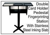 Pedestal Fingerprint Station