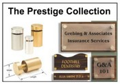 Prestige Collection Sign Supports