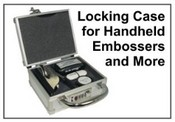 Hand Held Embosser Seal Case with lock