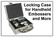 Hand Held Embosser Seal Case with lock